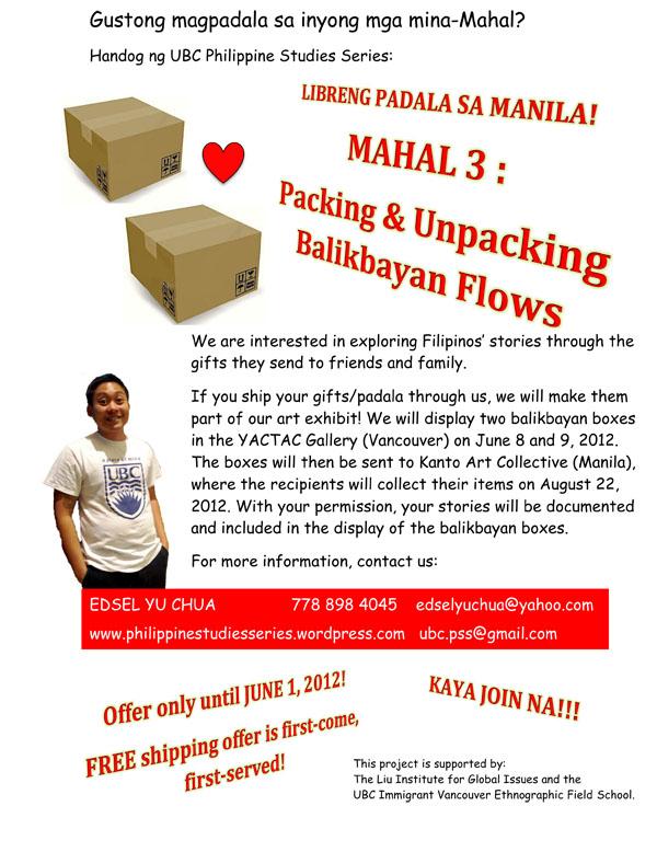 Free Shipping to Manila