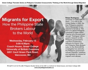 Feb 12-13: Second Installment of the Green College Thematic Series