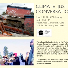Climate Justice Conversations